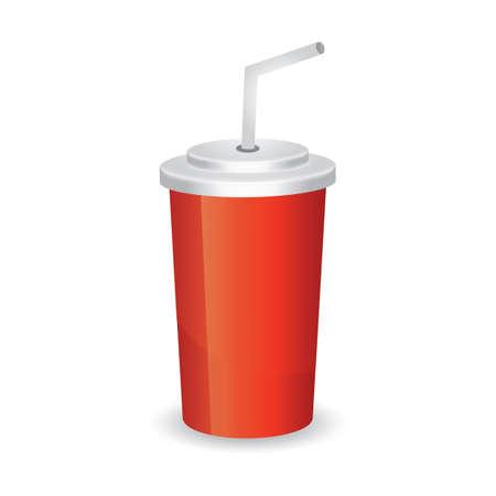 ストロー付きカップ