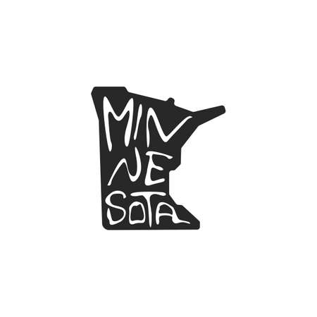 minnesota state map 스톡 콘텐츠 - 106674288