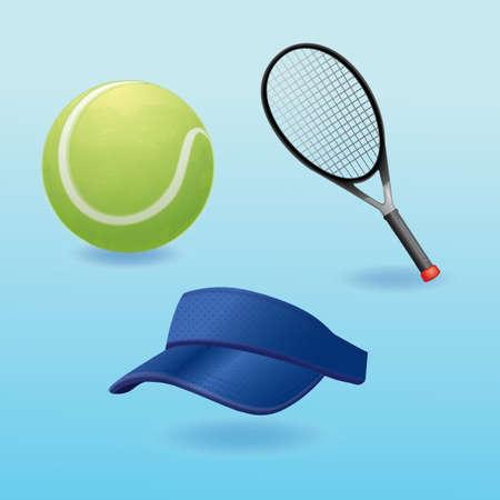 테니스 수집 일러스트