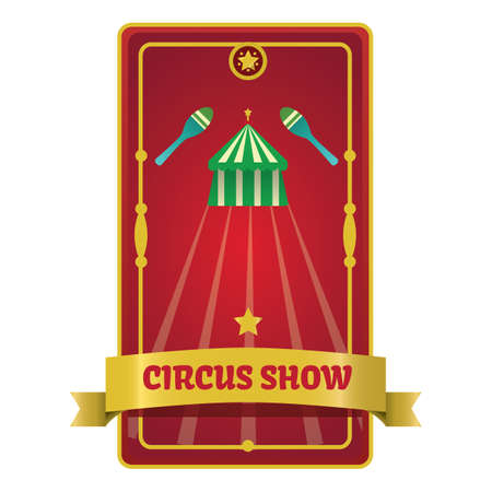 circus show poster Illustration