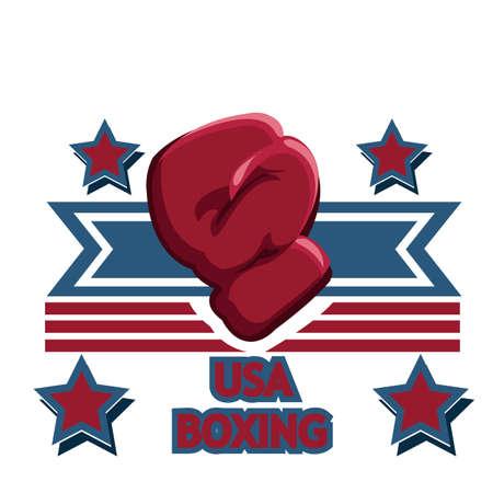 usa boxing glove