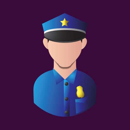 policeman Иллюстрация