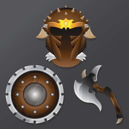 icônes de chevalier Vecteurs