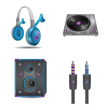 audio equipment set