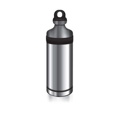 Edelstahl Wasserflasche
