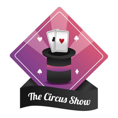 circus show label Stock Vector - 106674415