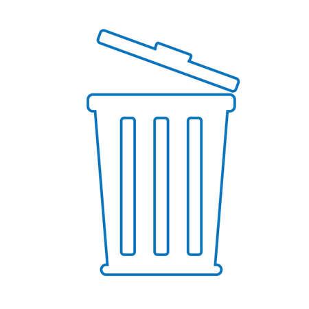 Mülleimer Vektorgrafik
