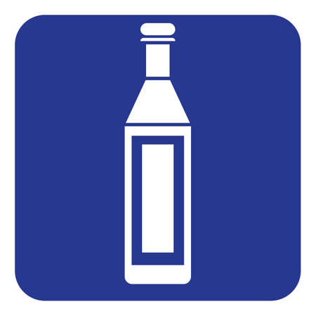 wine bottle Illusztráció