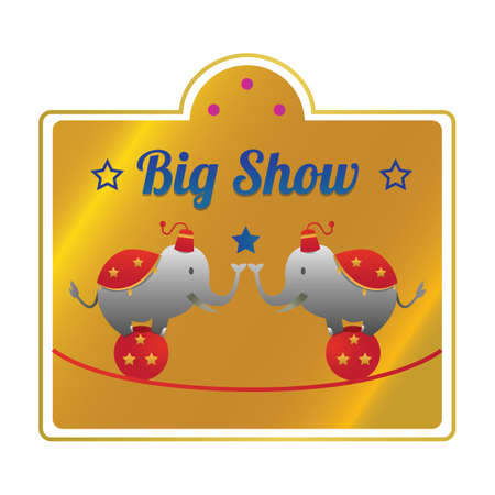 big show label