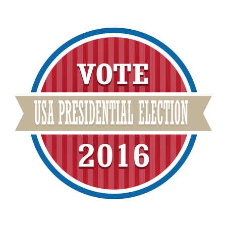 미국 대통령 선거 라벨