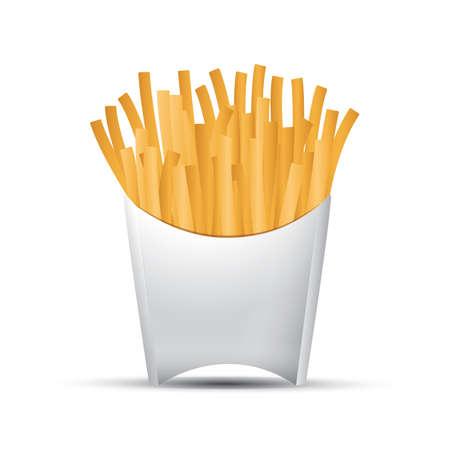 Franc?s fries Foto de archivo - 81537014