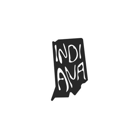indiana state map