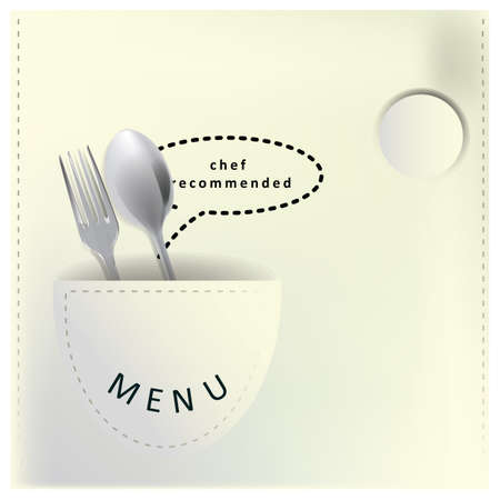 Restaurant-Menü-Design Standard-Bild - 81537019