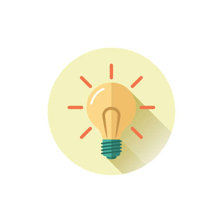 Light bulb illustration.