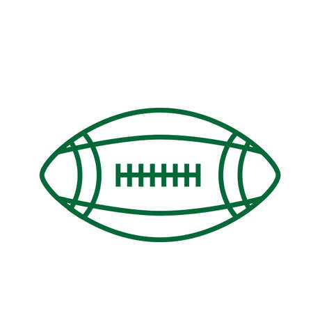 american football ball Stock Vector - 81536039