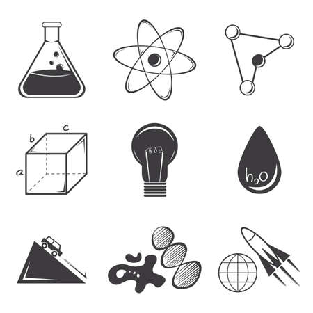 Science set Иллюстрация