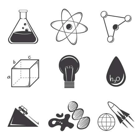 Set di scienza Archivio Fotografico - 81485933
