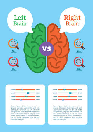Infographic of brain