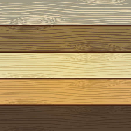 Wooden background Ilustrace