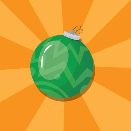 크리스마스 bauble 일러스트