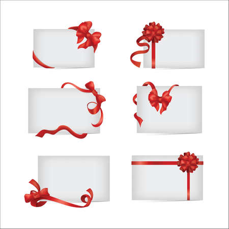 collection of paper with a decorated ribbon
