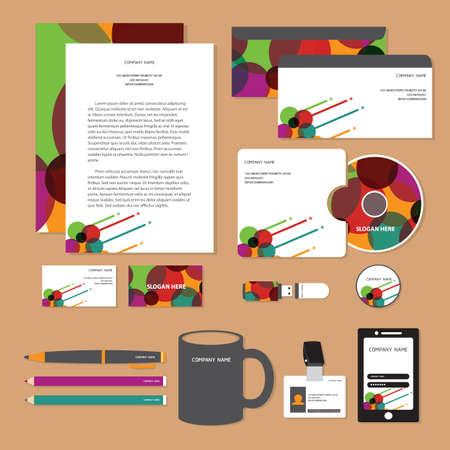 コーポレート ・ アイデンティティ デザイン  イラスト・ベクター素材