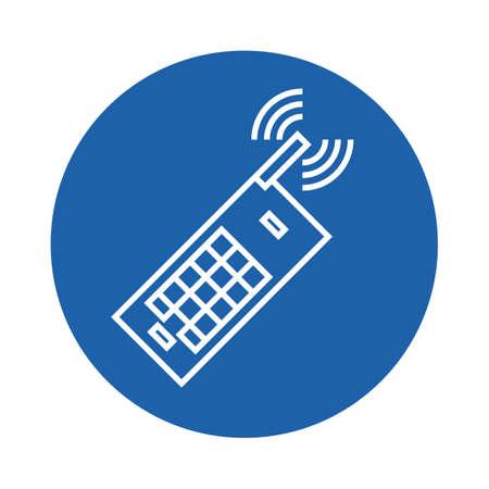 mobile phone Stock Illustratie