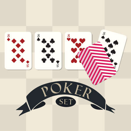 Set of poker Stock fotó - 81485749