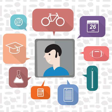 学生教育のアイコン