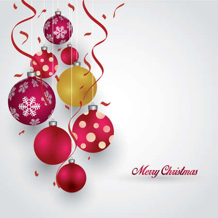 christmas greeting Illustration