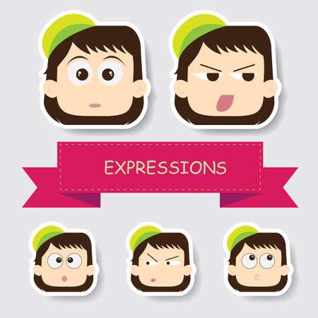 様々 な表情を持つ少女