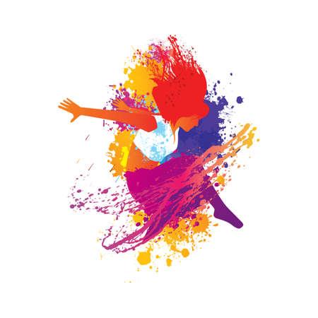 tancerka Ilustracje wektorowe