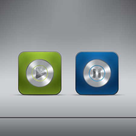 pulsanti del lettore multimediale