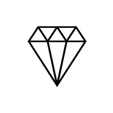 Diamond icon Ilustração