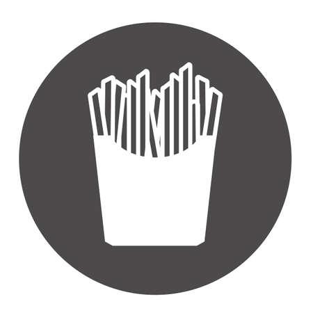 Franc?s fries Foto de archivo - 81537031
