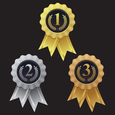 winner rosette
