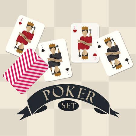 Set di poker Archivio Fotografico - 81485802