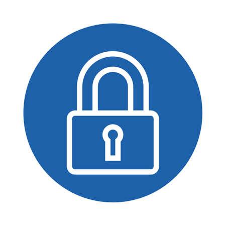 lock 向量圖像