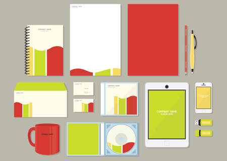 corporate identity designs Imagens - 106674736