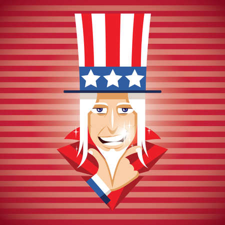 uncle sam poster Illustration