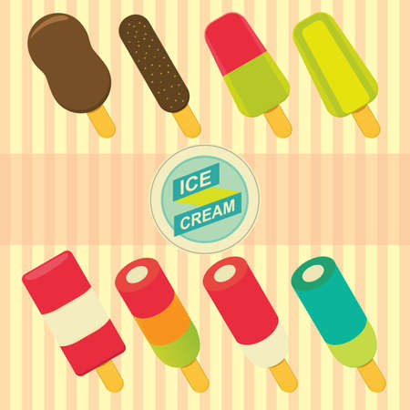 ice cream wallpaper Illustration