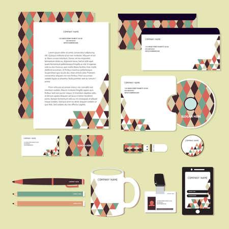 corporate identity designs Zdjęcie Seryjne - 106674757