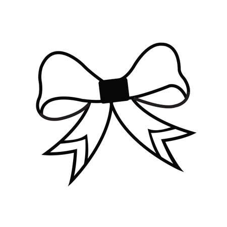 나비 넥타이 일러스트