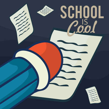 School is Cool Stockfoto - 81485829