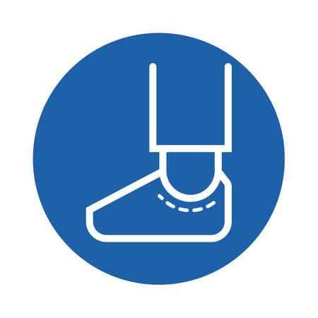 foot Standard-Bild - 106674785