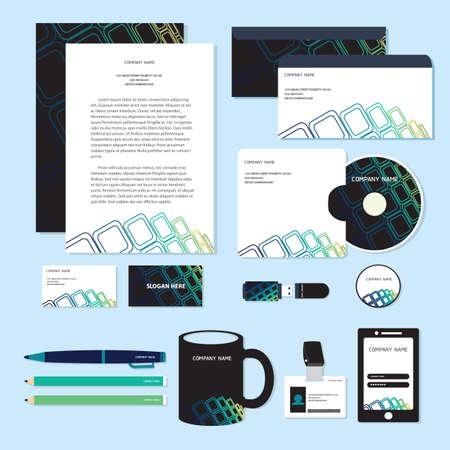 corporate identity designs Stock Vector - 106674806