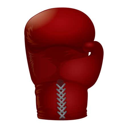 Uma ilustração de luvas de boxe. Ilustración de vector