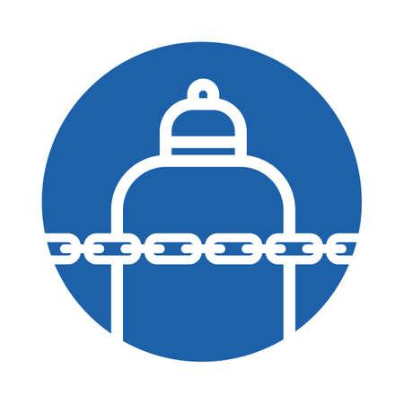 chains Standard-Bild - 106674809