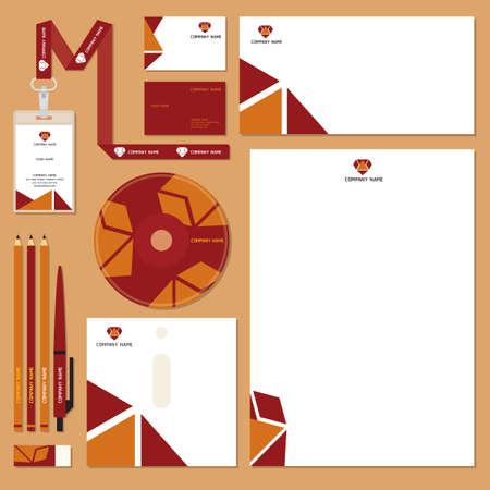 corporate identity designs Stok Fotoğraf - 106674819