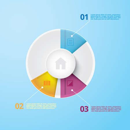 infographic representation Stok Fotoğraf - 106674838